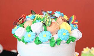 裱花蛋糕特色班(一个月)