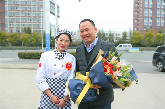 """""""世赛""""烹饪专家组组长中国烹饪大师莅临安徽新东方参观考察"""