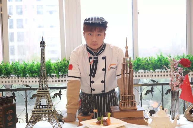 【学子故事】重返校园,我才知道西餐可以如此有趣!―孙飞祥!