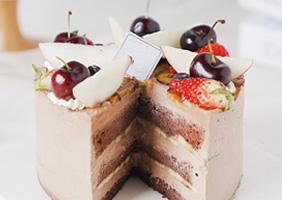<b>水果蛋糕</b>